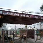 Thi công mái che Cafe Hải Yến