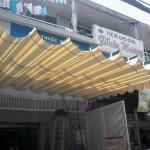Mái hiên di động Nhà thuốc Quỳnh Giao – Q. Tân Phú