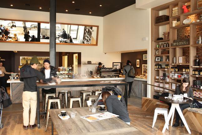 Mẫu quán cà phê tobys estate - coffee shop