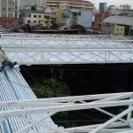 Thi công mái che di động tại Lagi Bình Thuận