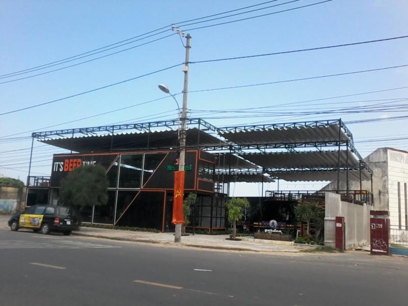 Bạt mái che di động Tuy Hòa - Phú Yên