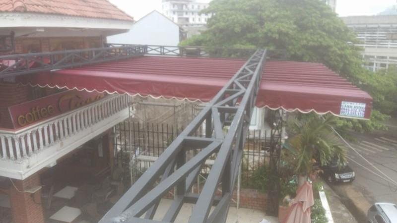 Mái che di động (Bạt Kéo di động) Cafe Tùng, 69 Tản Đà, tp Tuy Hòa