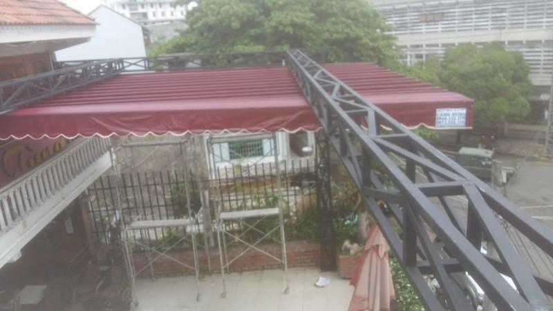 Dự án mái che cafe Huy Tùng