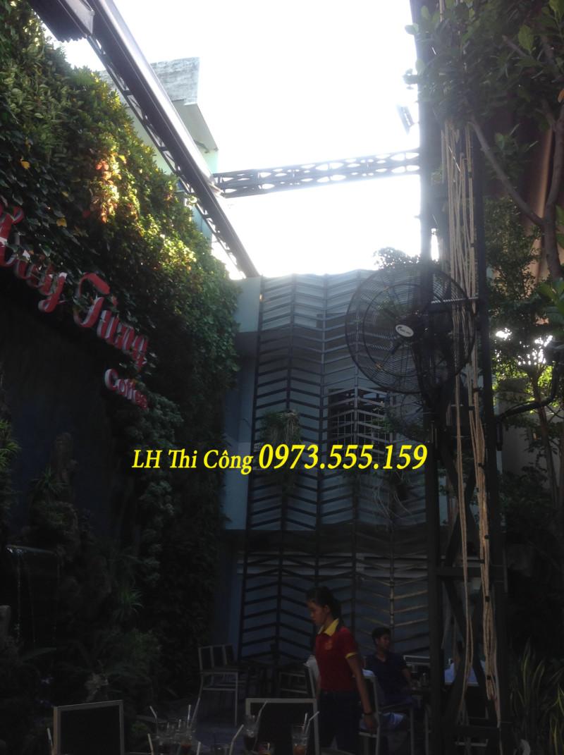 Mái che Quán Cafe 0973555159