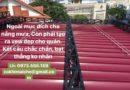 Bảng giá Mái hiên di động/ bạt kéo xếp di động Huy Phát Đà Nẵng call 0973555159