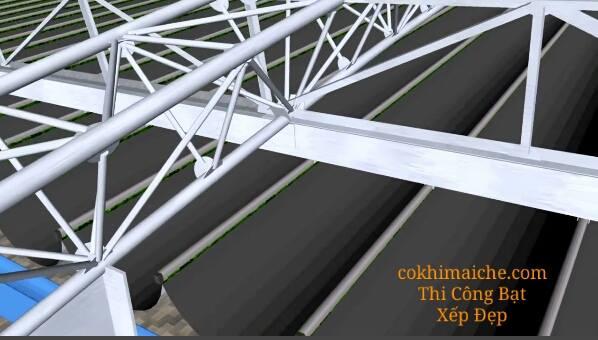 Công ty thi công mái che bạt xếp ở đà nẵng. Thiết kế và thi công mái che di động đẹp