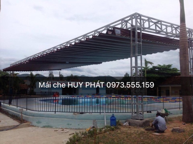 Mái Che cho Hồ Bơi - 0914332379