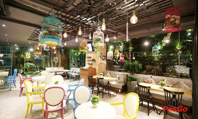 Én Tea House & Restaurant - Điện Biên Phủ maps 308-308C Điện Biên Phủ, Robot Tower, Tầng G, P. 4, Q. 3