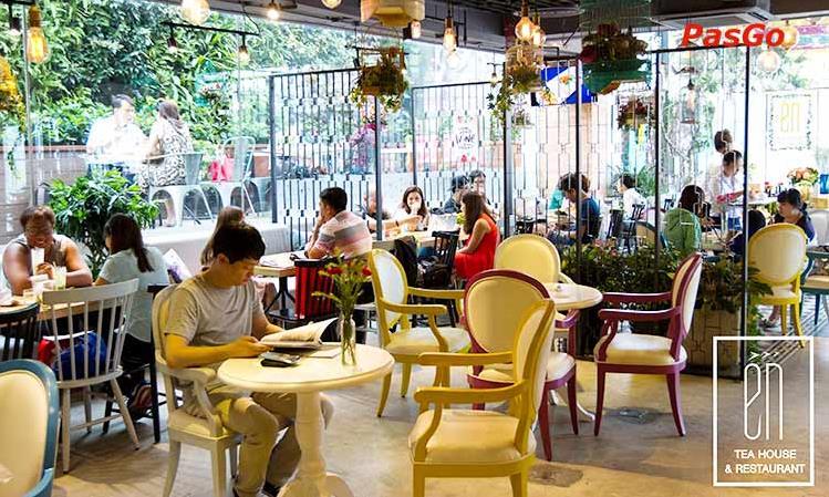 Thi công nhà hàng Én Tea House & Restaurant - Điện Biên Phủ maps 308-308C Điện Biên Phủ, Robot Tower, Tầng G, P. 4, Q. 3