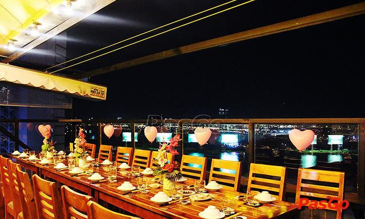 Thi Công nhà hàng Hàng Dương Quán - 32-34 Ngô Đức Kế, Phường Bến Nghé, Quận 1