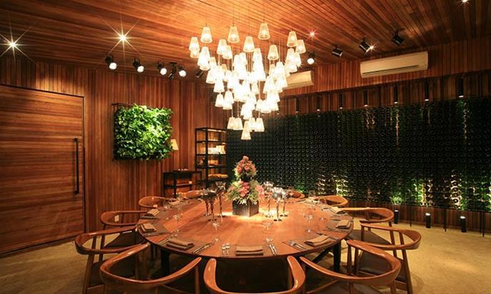 Thi công Nhà hàng The LOG Restaurant - 8 Nguyễn Bỉnh Khiêm, Phường Đa Kao, Quận 1