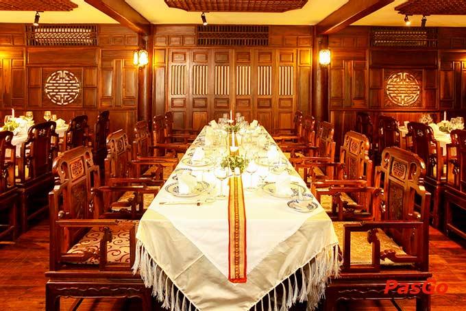 Thi công nhà hàng Hội An - 11 Lê Thánh Tôn, Phường Bến Nghé, Quận 1
