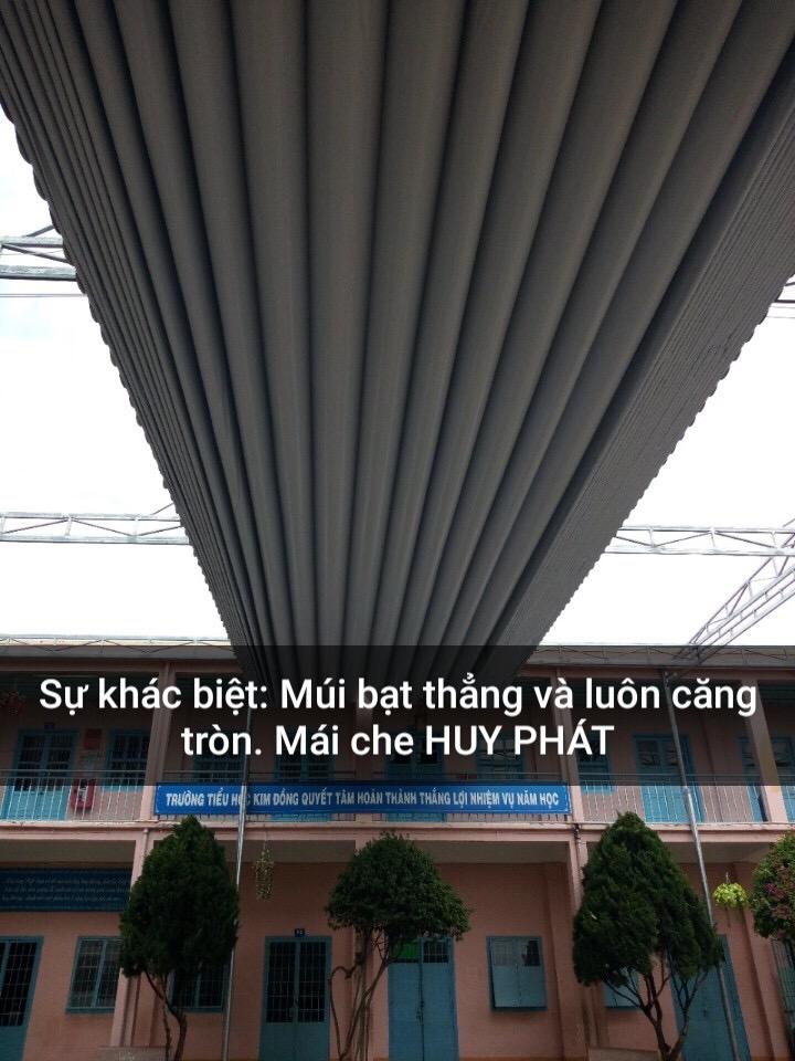 Dự án mái che cho trường Kim Đồng, Đức trọng, lâm đồng
