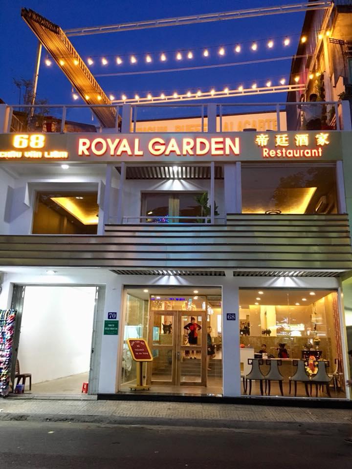 Dự án Mái che Nhà Hàng Royal Garden