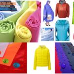 Vải polyester + vải nylon- Chống thấm nước, chống tia UV…