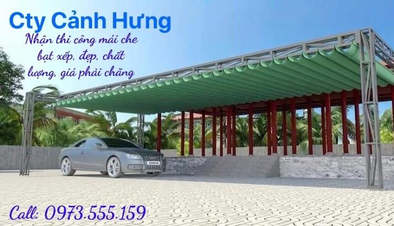 Cơ sở làm mái bạt kéo ở Nha Trang