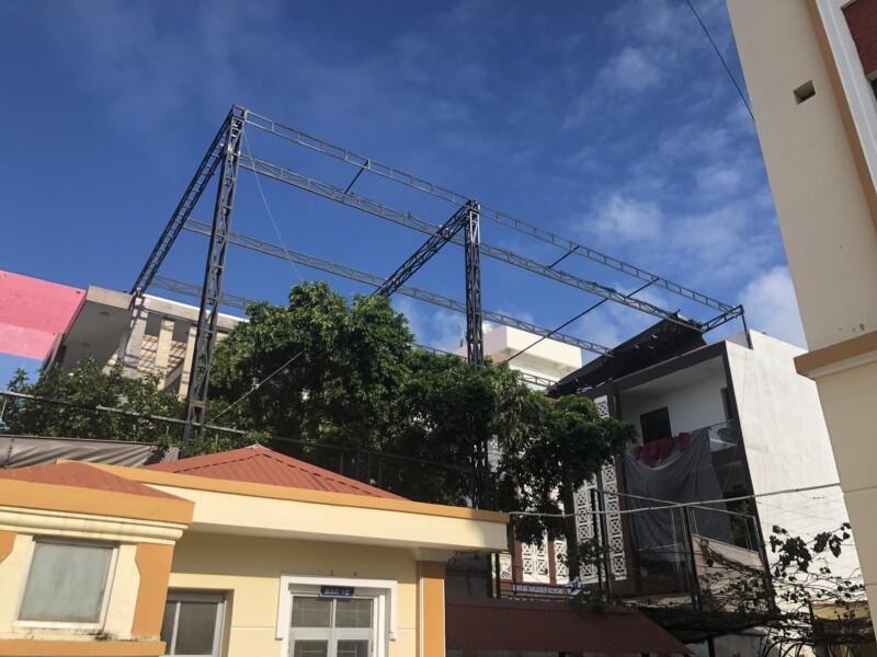 Cơ sở làm mái bạt xếp ở Nha Trang