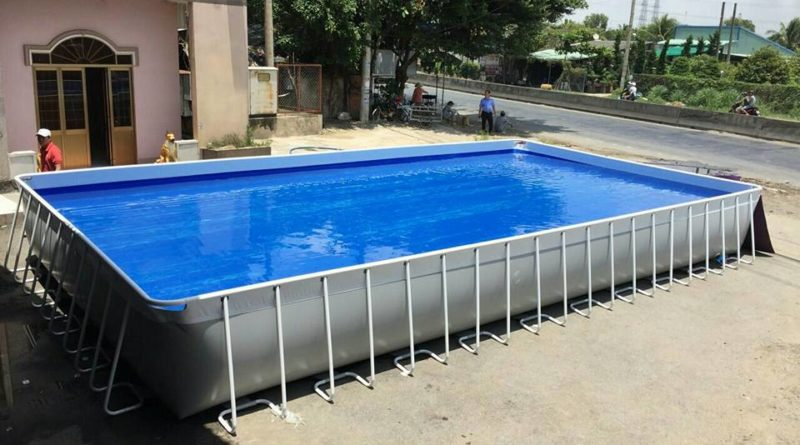 Bạt lót hồ bơi