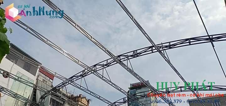 Công trình mái vòm di động do Huy Phát thực hiện