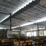 Thi công mái che Nhà hàng Hoa Biển – Thủ Đức – TP HCM