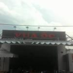 Mái che – Dù Vuông quán Ốc Vua – AEON – Tân Phú