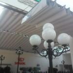 Mái hiên di động Nhà hàng Quen 19 Cộng Hòa – Tân Bình
