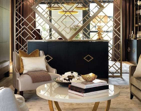 Vách ngăn phòng khách đẹp Ưu điểm của việc sử dụng vách ngăn cnc phòng khách