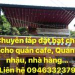 Lắp Đặt Bạt Xếp Di Động ở Đà Nẵng (Bẳng báo giá mái hiên di động ở đà nẵng)