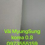 Bạt MyungSung Korea 6.4, 8.0, 4.0, 3.9