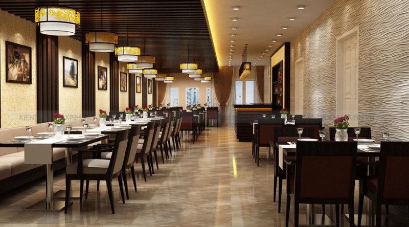 Thiết kế thi công nhà hàng, Quán Cafe quán ăn – Hoàn Thiện Công Trình
