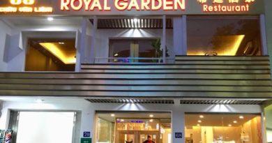 Dự án thi công nhà hàng Royal Garden – 68 Châu Văn Liêm, Q5