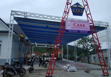 Mái Che Tiệc Cưới Nhà Thờ Klong – Hiệp An, Đức Trọng, Lâm Đồng