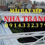 Bảng giá bạt rèm mái che di động ( mái hiên di động, bạt kéo xếp di động ở Nha Trang )